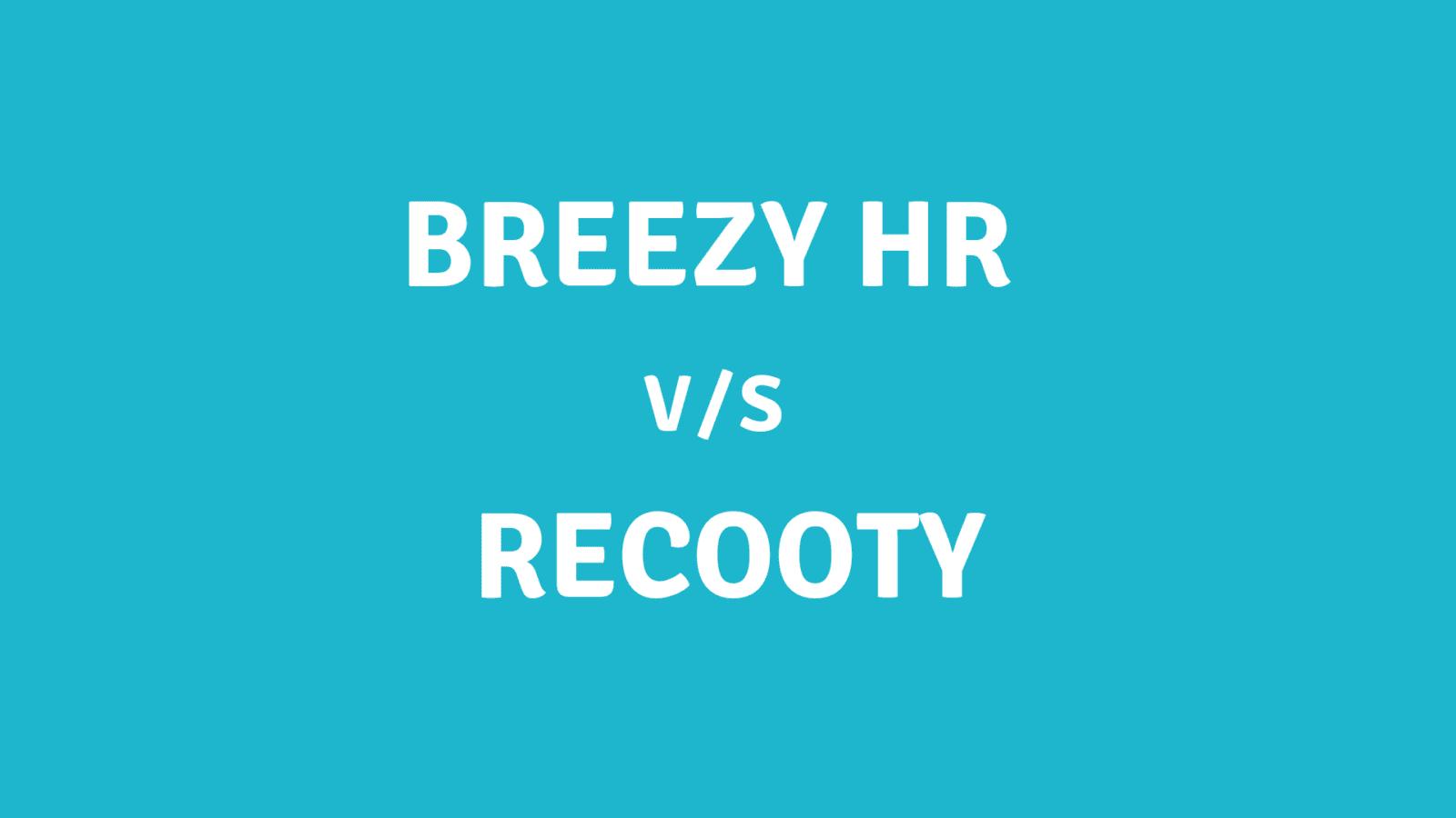 Breezy HR alternative