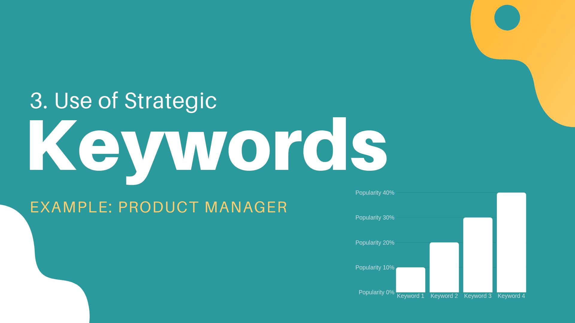 Job description keywords