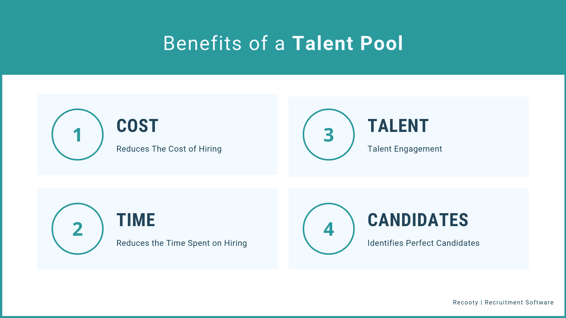 Benefits of a Talent Pool