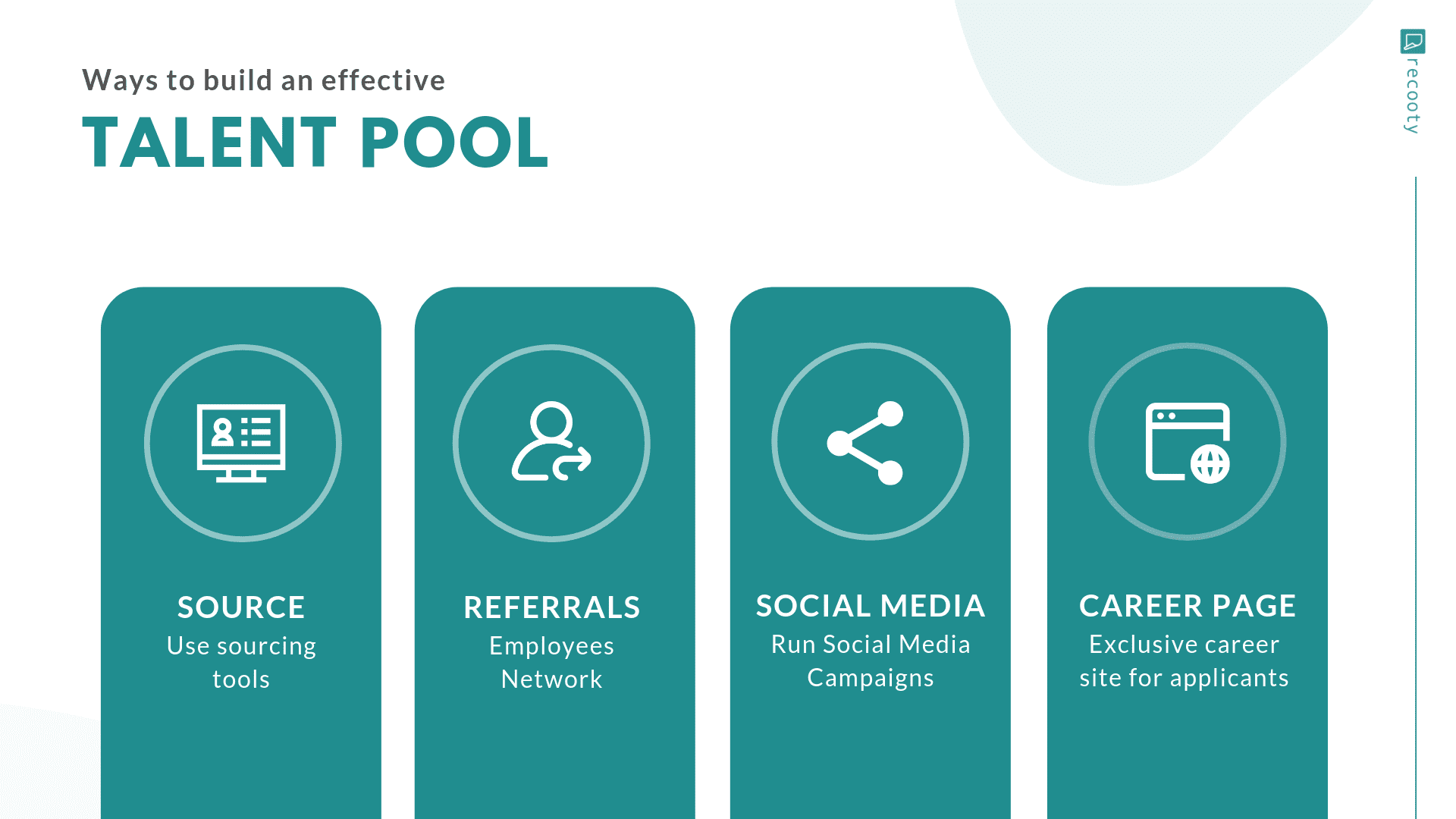 How to build a talent pool