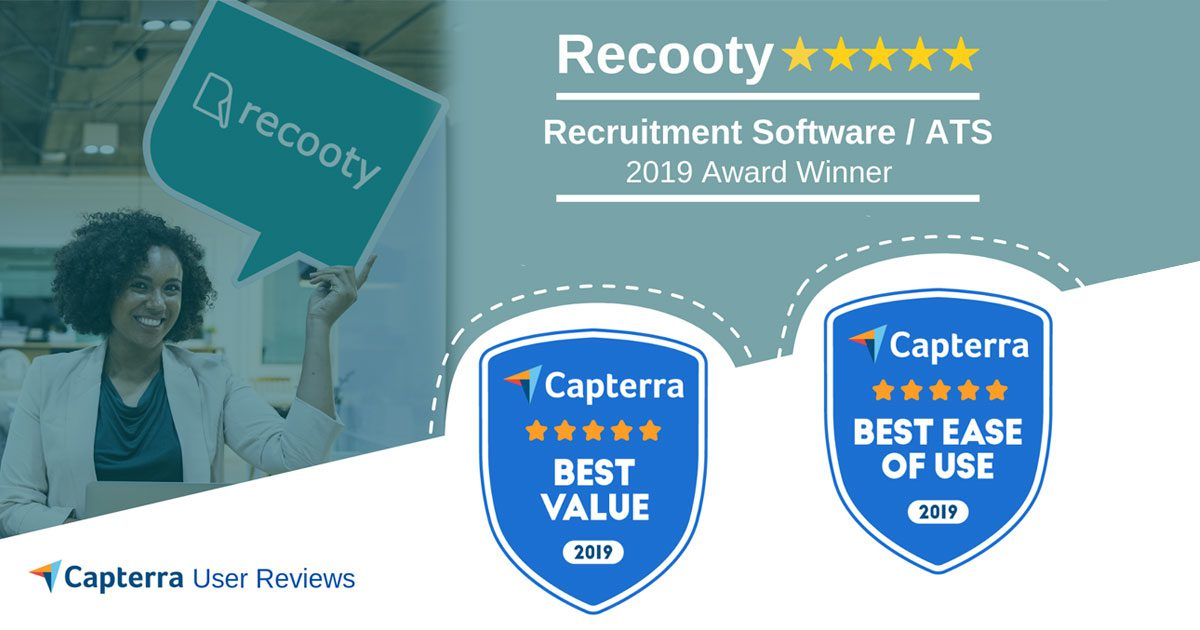best recruiting software, capterra award, gatrner best software, applicant tracking system, recruitment software, ATS software