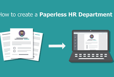 Paperless HR Department