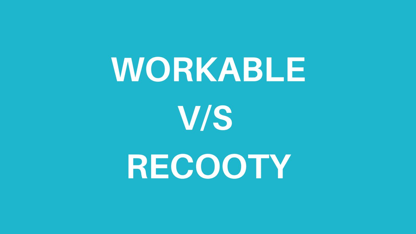 Workable alternatives