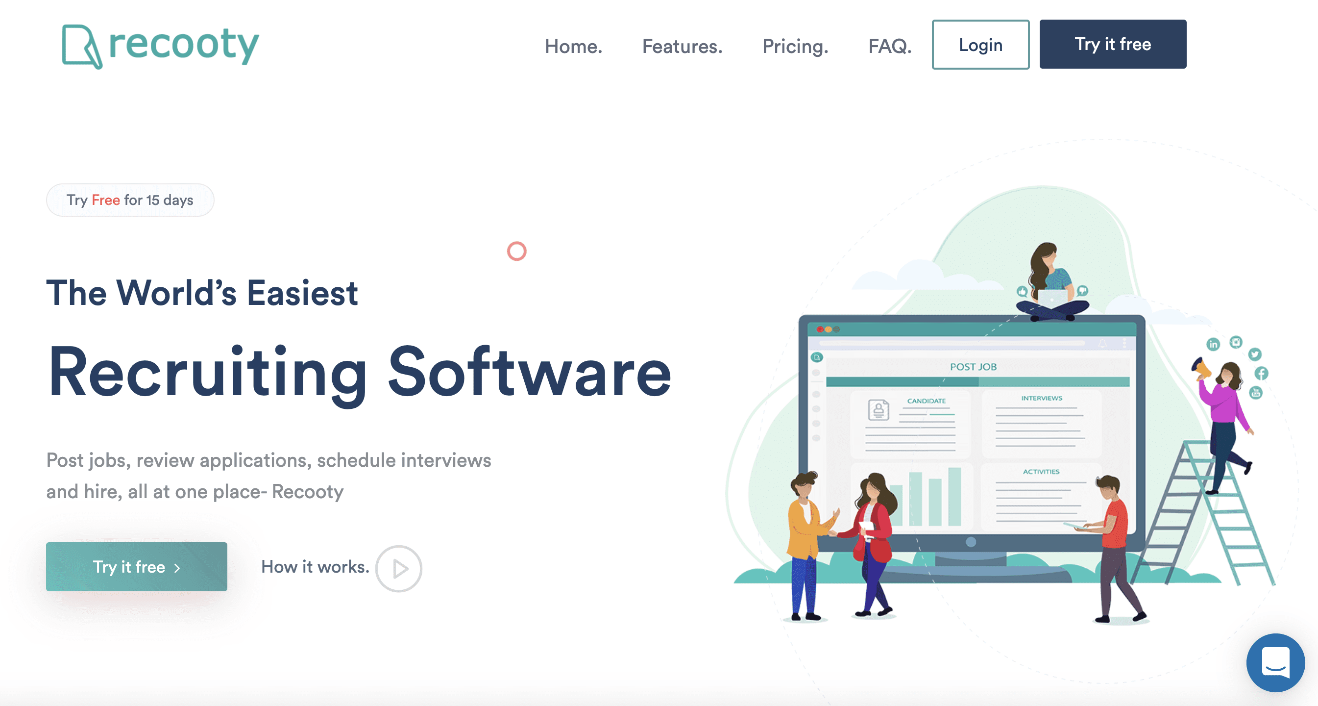 Recooty- Applicant Tracking System