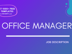 Office manager job description, office manager job description template, office manager jd, office manager jd template, free office manager job description template, sample office manager jd, office manager sample