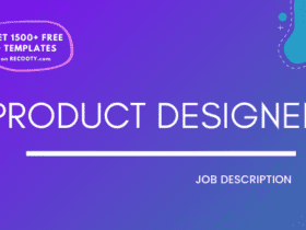 Product designer free job description, product designer jd, product designer roles and responsibilities