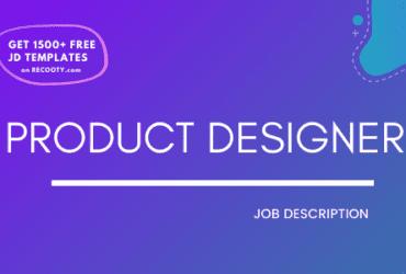 Product designer free job description, product designer jd, product designer roles and responsibilities