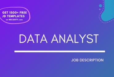 Data analyst job description, data analyst free jd, data analyst free job description, data analyst job roles and responsibilities