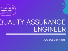 Quality Assurance Engineer Job Description Template,Quality Assurance Engineer JD, Free Job Description,Job Description Template,job posting