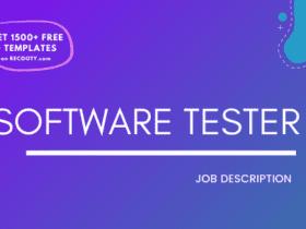 Software Tester Job Description Template,Software Tester JD,Free Job Description,Job Description Template,job posting