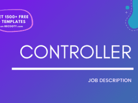 Controller Job Description Template, Controller JD, Free Job Description, Job Description Template, job posting