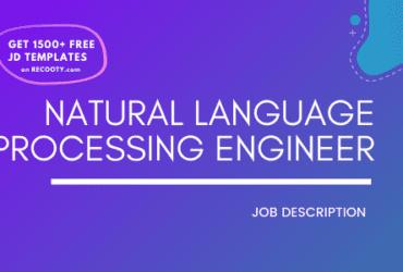 NLP Engineer Job Description Template,NLP Engineer JD,Free Job Description,Job Description Template,job posting