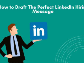 How to write a great LinkedIn Recruitment Inmail. Tips to write the best candidate outreach message. How to grab candidate's attention with your LinkedIn Message. How to draft a perfect Linkedin hiring message.