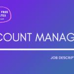 Account Manager Job Description Template,Account Manager JD,Free Job Description,Job Description Template,job posting