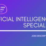 Artificial Intelligence Specialist Job Description Template,Artificial Intelligence Specialist JD,Free Job Description,Job Description Template,job posting