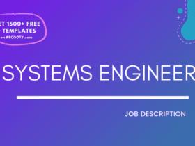 Systems Engineer Job Description Template,Systems Engineer JD,Free Job Description,Job Description Template,job posting