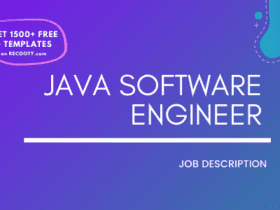 Java Software Engineer Job Description Template,Java Software Engineer JD,Free Job Description,Job Description Template,job posting