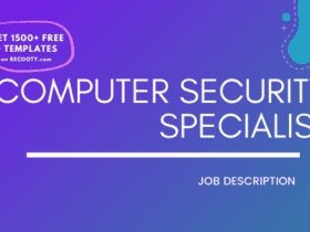 Computer Security Specialist Job Description Template,Computer Security Specialist JD,Free Job Description,Job Description Template,job posting