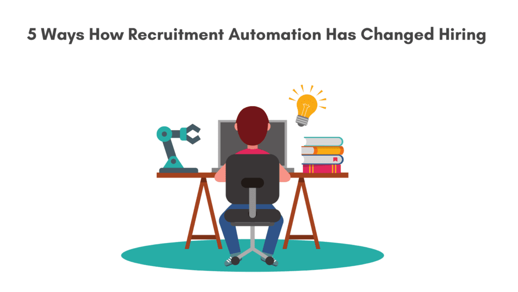 5 ways how recruitment automation has changed hiring. How has automation modified hiring. How has hiring automation impacted hiring.