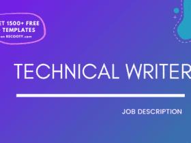 Technical Writer Job Description Template,Technical Writer JD,Free Job Description,Job Description Template,job posting