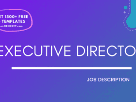 Executive Director Job Description Template,Executive Director JD,Free Job Description,Job Description Template,job posting