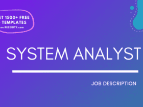 System Analyst Job Description Template,System Analyst JD,Free Job Description,Job Description Template,job posting