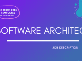 Software Architect Job Description Template,Software Architect JD,Free Job Description,Job Description Template,job posting