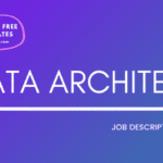Data Architect Job Description Template,Data Architect JD,Free Job Description,Job Description Template,job posting