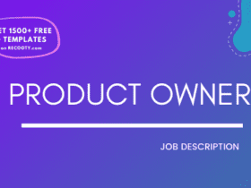 Product Owner Job Description Template,Product Owner JD,Free Job Description,Job Description Template,job posting