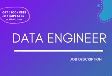 Data Engineer Job Description Template,Data Engineer JD,Free Job Description,Job Description Template,job posting