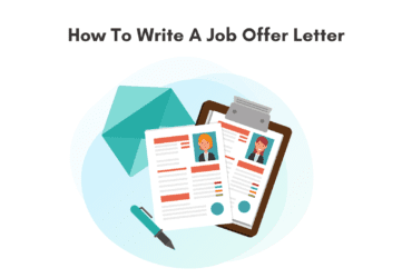 How to write a great job offer letter. How to write a job offer letter. Job offer letter format. Tips to write a good job offer letter.