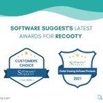 SoftwareSuggest Awards Recooty. SoftwareSuggest recognition awards 2020. SoftwareSuggest awards recooty in 2021. Winner of softwaresuggest recognition awards.